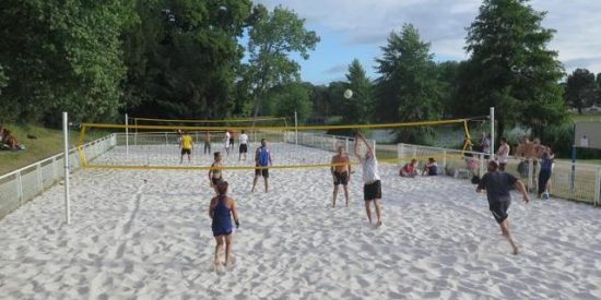 Beach-volley comme à Rio