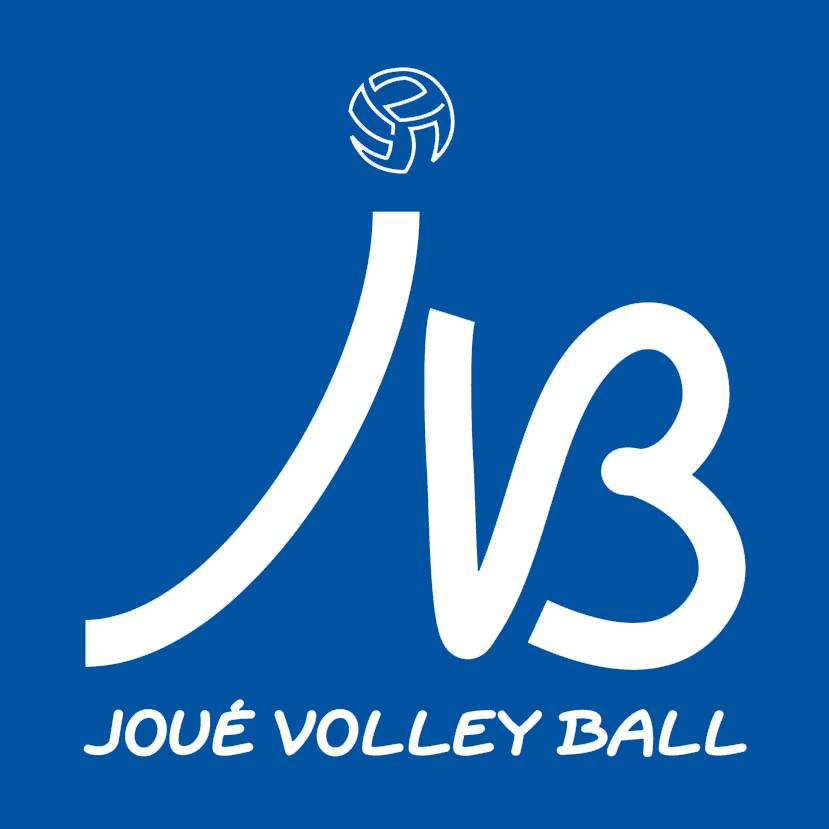 Logo JVB Blanc fond bleu
