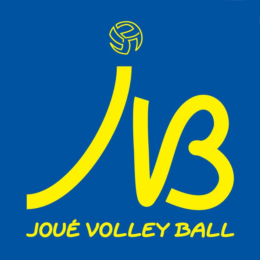 Logo JVB Jaune Fond Bleu