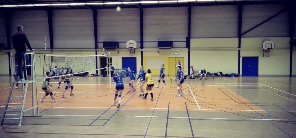 FFV : RSSCyr – JVB : en Pré-National Féminine