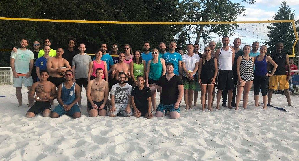 Bilan Beach Volley aux Bretonnières