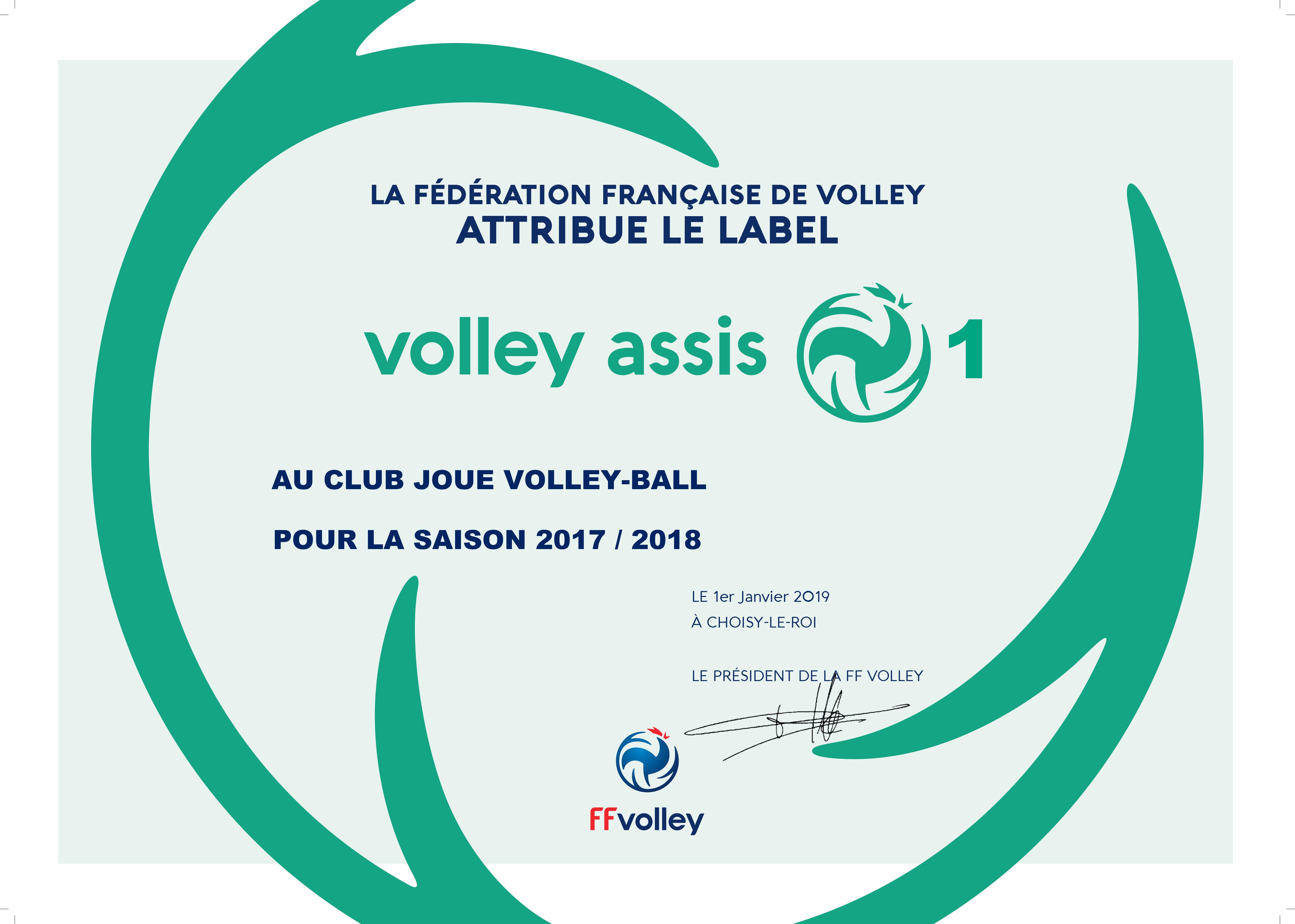 Club : Label FFV : Renouvellement & Nouveautés