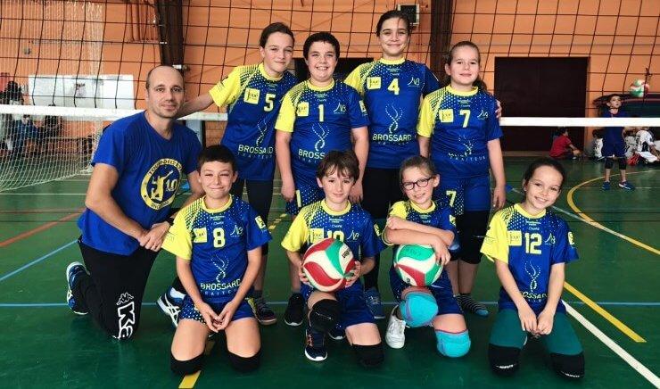 Ecole de Volley : Le début des compétitions pour nos jeunes