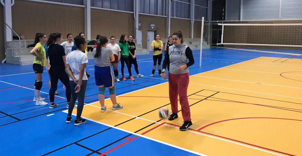 Club : Les premiers entraînements au gymnase Hubert Henno …