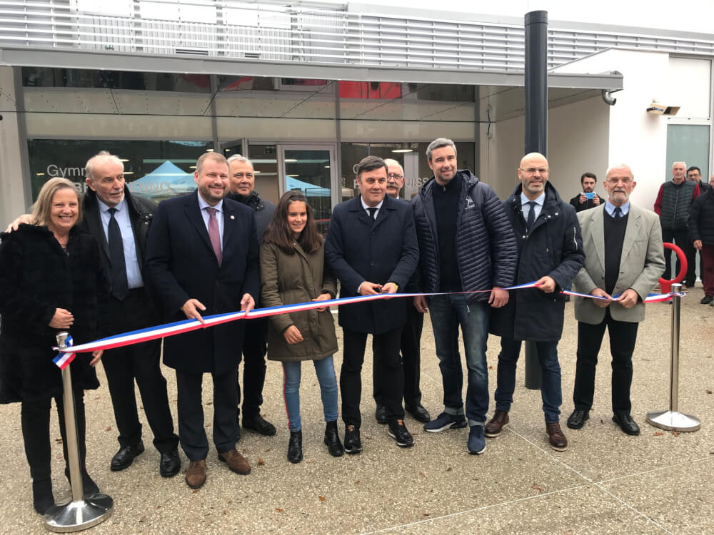 Club : Inauguration Gymnase Hubert Henno